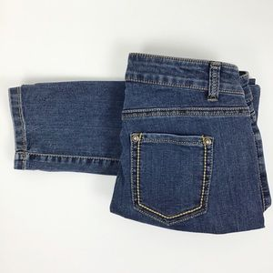 Cache Skinny Stretch Blue Denim Jeans l Size 2